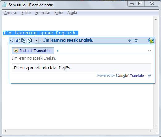 exemplo de utilização do Lingoes