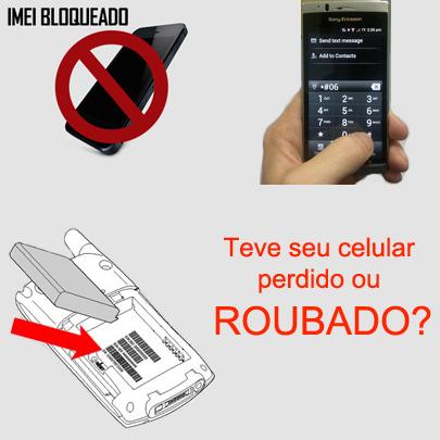 Código IMEI de aparelho celular